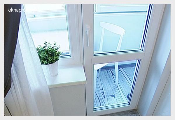 Балконный блок (окно и дверь пвх) в минске. все виды.